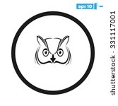 owl | Shutterstock .eps vector #331117001