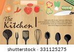 vegetarian and vegan food... | Shutterstock .eps vector #331125275