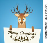 Merry Christmas Reindeer...