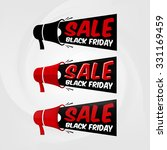 "the words ""black friday sale"" ... 