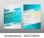 business brochure flyer design... | Shutterstock .eps vector #331176644