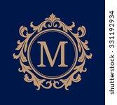elegant monogram design... | Shutterstock .eps vector #331192934