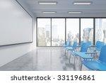 a classroom or presentation... | Shutterstock . vector #331196861