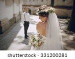 lovely wedding couple oditi a... | Shutterstock . vector #331200281