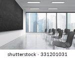 a classroom or presentation... | Shutterstock . vector #331201031