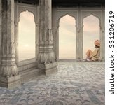Oasis In A Indian Palace In Th...