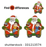 Find Differences Game  Santa...