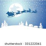 santa claus   christmas...   Shutterstock .eps vector #331222061