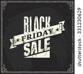 black friday vector label... | Shutterstock .eps vector #331230629