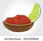 hand drawn vector illustration... | Shutterstock .eps vector #331240064
