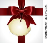 illustration of ribbon bow... | Shutterstock .eps vector #331242821
