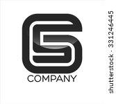 gs company linked letter logo | Shutterstock .eps vector #331246445