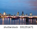 London Nights From The Piers...