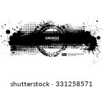 ink splash background. black... | Shutterstock .eps vector #331258571