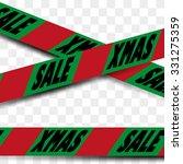 attention danger sale tape in... | Shutterstock .eps vector #331275359