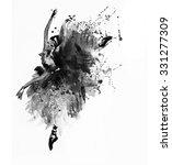 watercolor ballerina   Shutterstock . vector #331277309