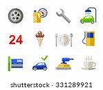 car wash  car repair  color... | Shutterstock .eps vector #331289921