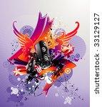 music vector illustration | Shutterstock .eps vector #33129127