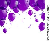 Vector Illustration Of Purple...