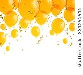 Vector Illustration Of Yellow...