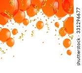 vector illustration of orange... | Shutterstock .eps vector #331296677