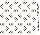 aztec pattern  triangles... | Shutterstock .eps vector #331299407