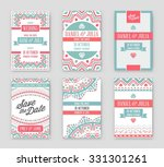 set of vector design awesome... | Shutterstock .eps vector #331301261