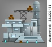 cartoon industrial building....