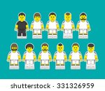 football players in club... | Shutterstock .eps vector #331326959