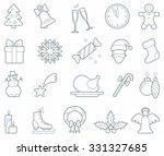 traditional symbols of... | Shutterstock .eps vector #331327685