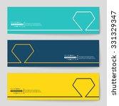 abstract creative concept... | Shutterstock .eps vector #331329347
