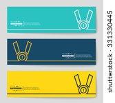 abstract creative concept... | Shutterstock .eps vector #331330445