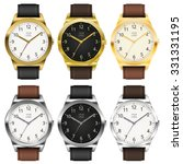 Gold And Chrome Watches  Six...