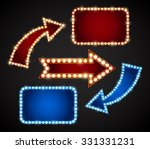 red and blue design elements... | Shutterstock .eps vector #331331231