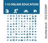 online education  science ... | Shutterstock .eps vector #331332089