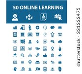 online learning  education icons | Shutterstock .eps vector #331333475