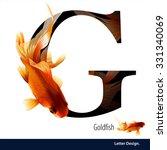 vector illustration of letter g ... | Shutterstock .eps vector #331340069