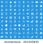 100 b2b icons set | Shutterstock .eps vector #331345835
