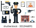 vector illustration with... | Shutterstock .eps vector #331346891