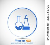 vector illustration test tube... | Shutterstock .eps vector #331351727