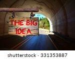 the big idea motivational...   Shutterstock . vector #331353887
