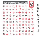 communication  technology ... | Shutterstock .eps vector #331354229