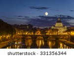 Night View Of The Basilica St...
