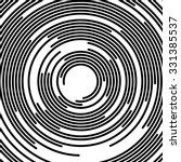concentric segments of circles  ... | Shutterstock .eps vector #331385537
