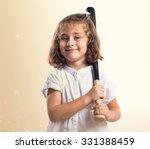 kid playing baseball | Shutterstock . vector #331388459