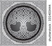vector ornament  decorative... | Shutterstock .eps vector #331403444