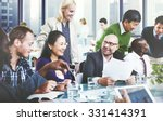 business people team teamwork... | Shutterstock . vector #331414391