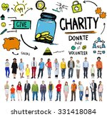 charity donate help give saving ... | Shutterstock . vector #331418084