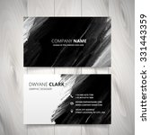 dark black watercolor business... | Shutterstock .eps vector #331443359