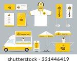 concept  corporate branding... | Shutterstock .eps vector #331446419